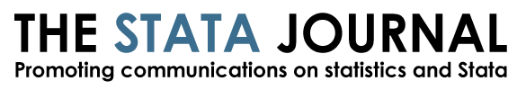 The Stata Journal: Promoting communications on statistics and Stata
